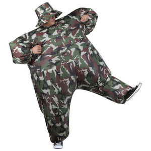 Adult Inflatable Camouflage Camosuit Army Adult